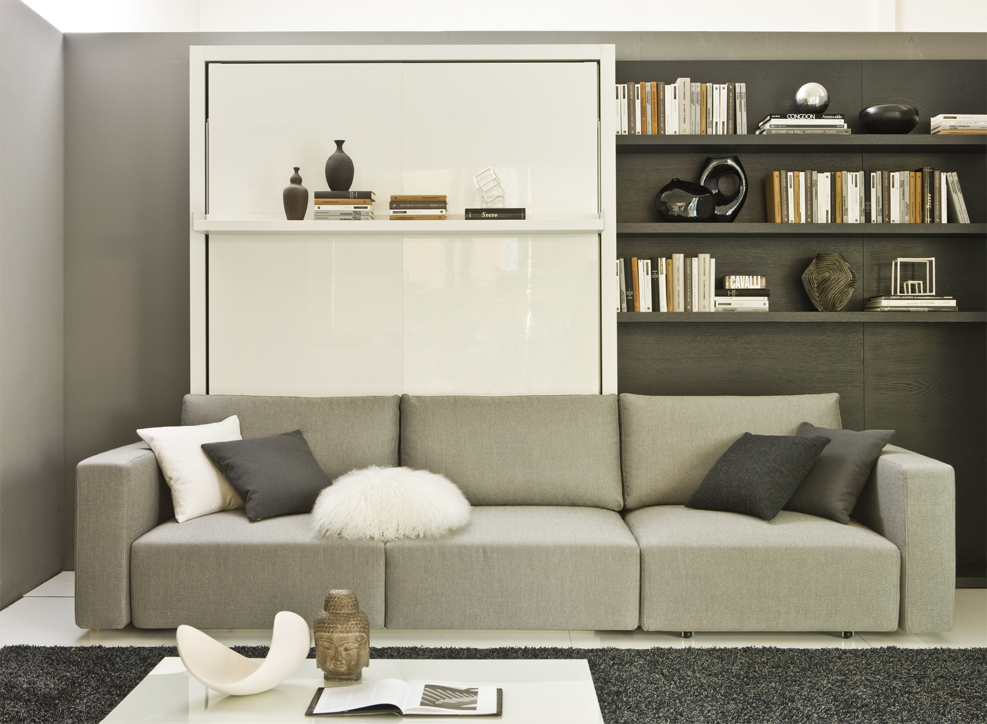 The Atoll swing sofa fold away wall bed unit many different