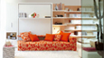 Click to view / Atoll 000 sofa wall bed unit