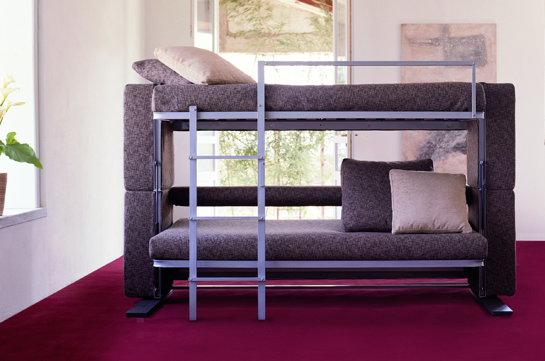 Doc xl a sofa bed that converts in to a bunk bed in two secounds Couch converts to bunk bed price
