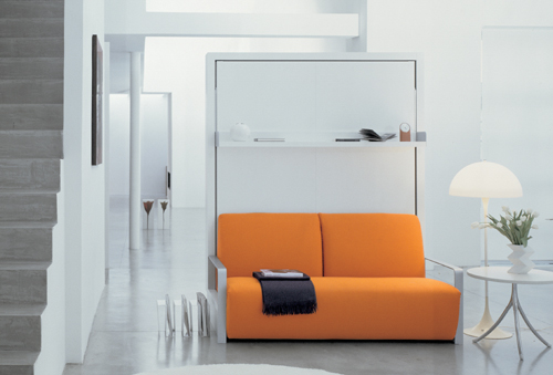 The Ito fold away wall bed with adjustable sofa many colour options