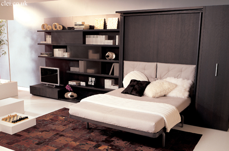 LGM 02 swivel wall bed unit