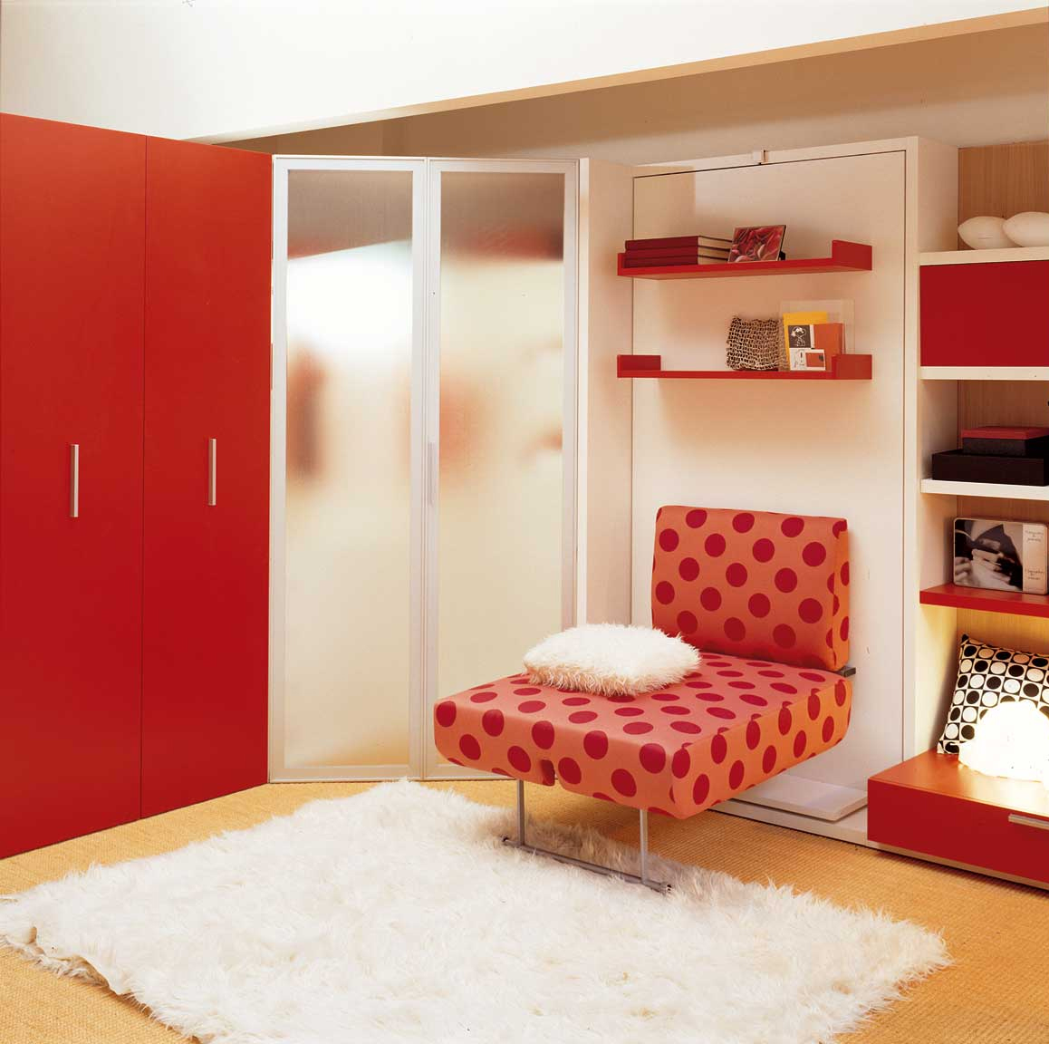 Lgs single swivel wall bed unit for Wall bed bangalore