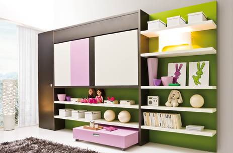 Lollibook Clei Wall Beds London 183 Foldaway Bed With Book