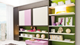 Click to view, Lollibook wall bed unit