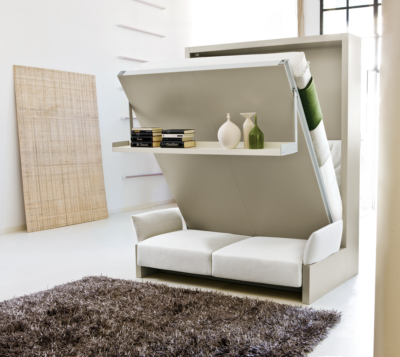 Nuovoliola wall bed clei wall beds london free for Italian wall bed system