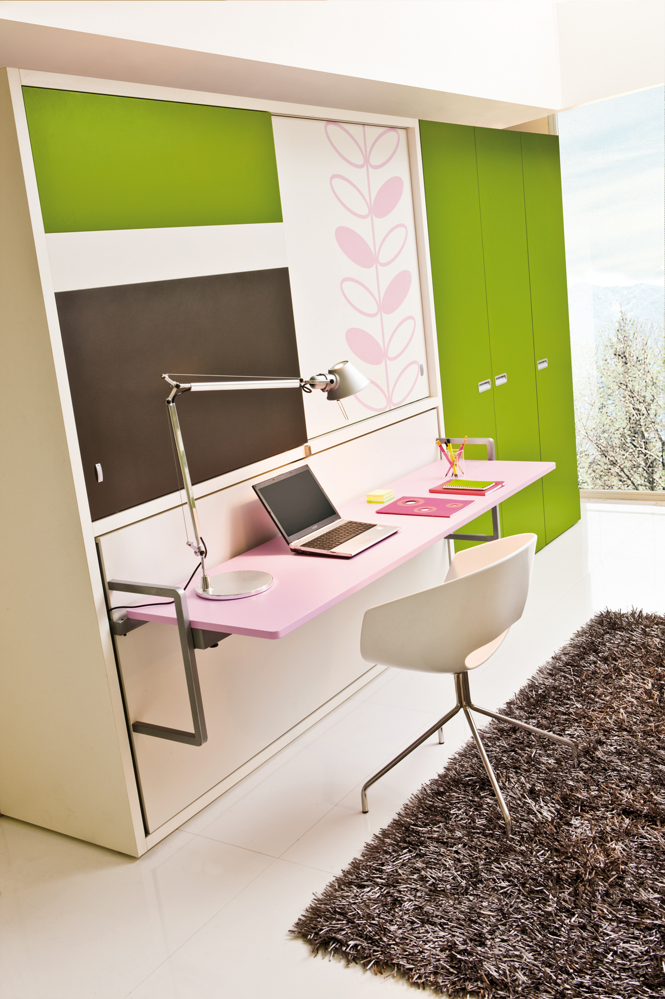 Study Desk Bed Clei Wall Beds London Poppi Board Wall Bed With Office Desk And Wardrobe
