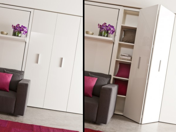 & Wardrobes and storage units| Clei space saving furniture London UK.